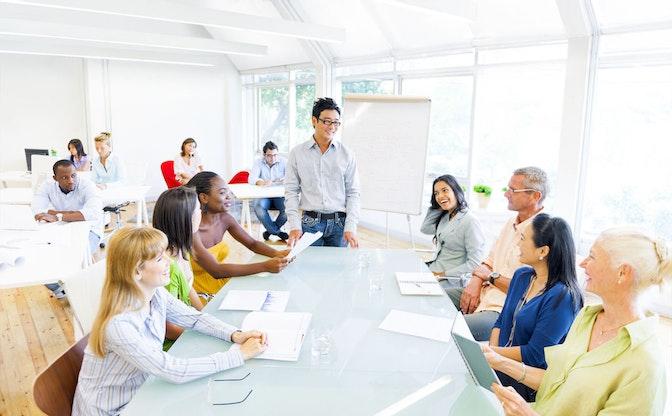 プレゼンテーションや会議が出来るようになると自分の仕事に自信が持てるようになる
