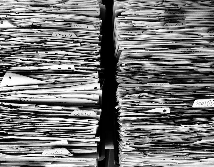 リモートワーク 紙文化